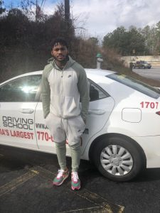 D'Andre Swift utilizes A-1 Driving School